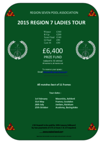 Region 7 Ladies Tour 2015